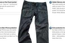Gadget Organizer Pants