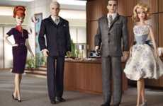 TV Drama Series Dolls - Mattel Creates 'Mad Men' Barbie Dolls