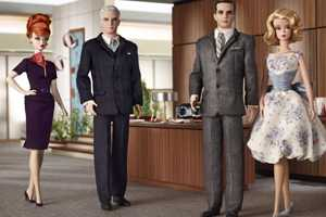 Mattel Creates 'Mad Men' Barbie Dolls