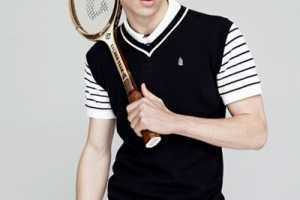 Nicolas Ripoll in the GQ Style 'Time for Tennis' Editorial