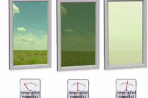 Smart Energy Glass Light Dimming Panes Create Electricity