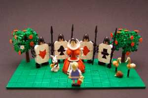 The LEGO Alice in Wonderland is a Truly Fitting Interpretation