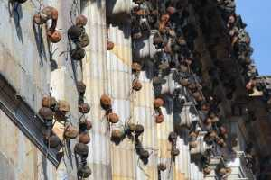 Rafael Gomezbarros Creates Giant Monument-Eating Bugs