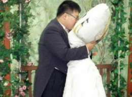 Cushy Nuptials - Korean Man Lee Jin-gyu Marries Anime Body Pillow