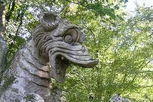 The Garden of Bomarzo Utilizes These Giant and Mutated Gnomes