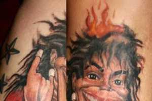 Jason Ackerman Tattoos Illustrate Artistic Talent and a Sense of Humor