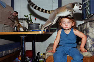 Robin Schwartz Photographs Her Daughter and Her Own Personal Zoo