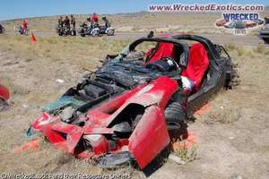 Database of Smashed up Supercars