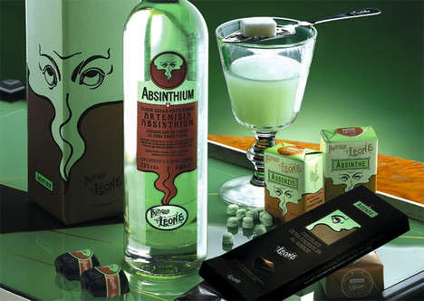 Absinthe Flavoured Chocolate