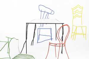 Real Designer Chairs That Look Like Scribbles