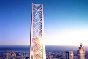 Green Skyscraper Combines Wind Turbines and Solar Panels