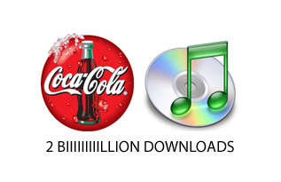 Coke to give away 2 Billion Free iTunes Tracks