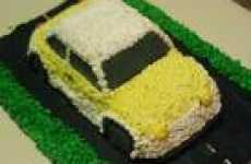 Life Size Car Cake