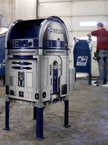Star Wars Stamps Coming for the R2D2 Mailbox