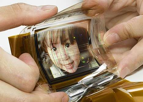 Sony's Flexible Full-Color OLED