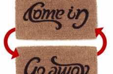Does it Say 'Come in' or 'Go Away'?