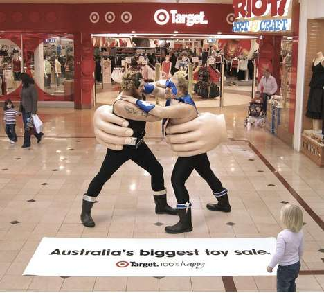 People as Toys - Live Action Ad at Target in Australia
