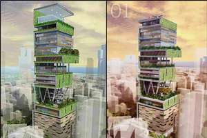 The 60 Story Antilia House