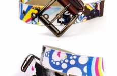 Unchaste Releases New Belts by International Graphic Artists