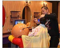 Anpanman Hair Salon - Animated Character Hair Salon Concept