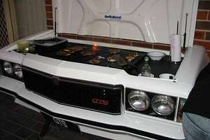Recycle Your Old Car Into A BBQ
