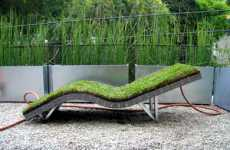 Sun Lounger Makes Eco-Friendly Nature-Inspired Lawnchairs
