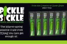Pickle Juice Popsicles