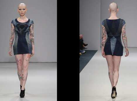 Bald Models with Tattoos