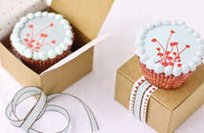 Enticing Edible Decals - Decorate Confections Like a Pro with 'Ticings' Stickers