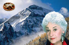 Golden Girl Food Blogs - 'Bea Arthur Mountains Pizza' Thanks You for Being a Friend (and a Foodie)