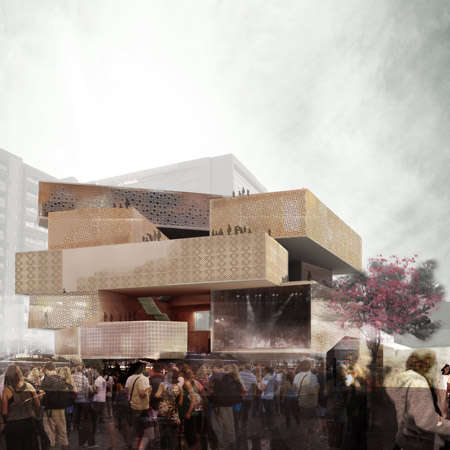 Stacked Box Achitecture - The 51-1 Arquitectos Museum Addition Gives History a Makeover