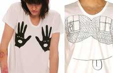 Peeping Tom Tees - Pleasure Principle and Olaf Breuning Team Up for T-Shirts