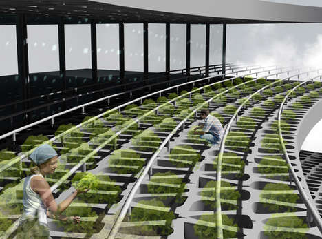 Futuristic City Farms - The Agricultural Urbanism Concept May Just Eliminate the Supermarket
