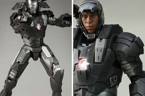 Iron Man II War Machine Figure