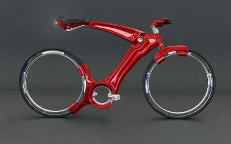 Motorless Minimalist Bikes