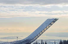 Death-Defying Sportsitecture (UPDATE) - The Holmenkollen Ski Jump Has Finally Been Built