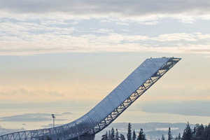 The Holmenkollen Ski Jump Has Finally Been Built