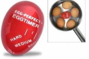 The Egg-Per'fect Egg Timer Takes the Guesswork out of Boiling Eggs