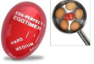 Color Changing Egg Boilers - The Egg-Per'fect Egg Timer Takes the Guesswork out of Boiling Eggs