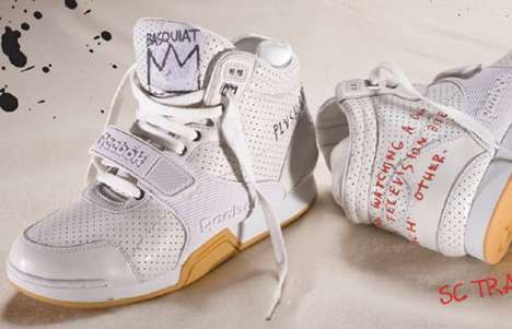 Jean-Michel Basquiat Reebok 2010