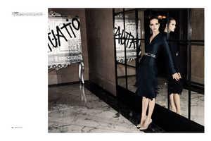 The Mirte Maas 'Revel' Spread for Bergdorf Goodman