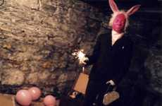 Man-Bunny Photography - 'Unny!' by Randy Knott Will Scare the Eggs Out of the Easter Bunny