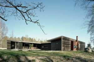 Widjedal Racki Bergerhoff Creates a Wood-Slated 'H House'