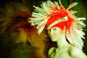 'Painted Bird' by Lucyna DanUta Bakowska