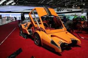 Sbarro Autobau Six-Speed Scream Machine is Like a Batmobile on Acid