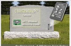 The RosettaStone Tablet is a Technology-Enhanced Memorial Product