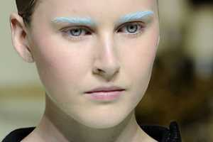 Pastel Brow Colors Emerge at Balenciaga Fall 2010