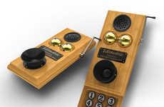 Hefty Vintage Phones