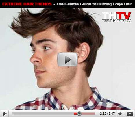 Extreme Hair Trends - The Gillette Guide to Cutting Edge Hair