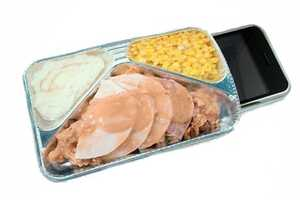 Frozen Turkey Dinner iPhone Protector is Beyond Cool